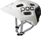 POC Trabec Race MIPS mtb helm race, mips wit Hoofdomtrek 51-54 cm