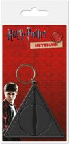 HARRY POTTER - Rubber Keychain - Deathly Hallows
