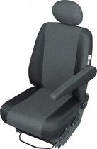 Pasvorm Auto stoelhoes voor bijrijdersstoel bedrijfswagens zoals Fiat Ducato / VW / Sprinter