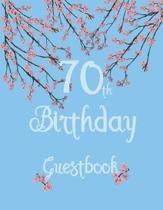 70th Birthday Guestbook