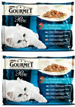 Gourmet Perle 4X85G Vis Delicatesse per 2 verpakkingen