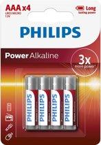 Philips AAA Power Alkaline Batterijen