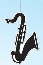Hangdecoratie saxofoon