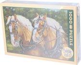 Cobble Hill Legpuzzel Paarden 1000 stukjes