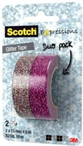 Scotch Glitter Tape - Roze