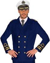 Kapitein & Matroos & Zeeman Kostuum | Jas Marine Officier Oorlogskruiser Man | Small | Carnaval kostuum | Verkleedkleding