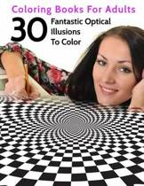 30 Fantastic Optical Illusions to Color