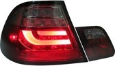AutoStyle Set LED Achterlichten BMW 3-Serie E46 Coupe 1999-2002 - Rood/Smoke