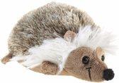 Pluche egel knuffel liggend 12 cm - knuffeldier