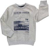 Losan Jongens Sweatshirt ecru sweatshirt  met Adventure print - Maat 110