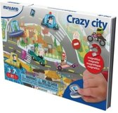 Miniland Taal: On The Go Magnetisch Spel Crazy City