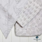 The little Green sheep Organic Cotton 3pc. wieg set Bear