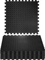 TecTake - vloermat - 12 delige set - ca. 5 m2 - schakelbaar - 402255