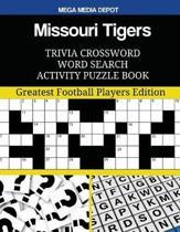 Missouri Tigers Trivia Crossword Word Search Activity Puzzle Book