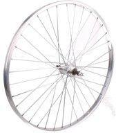 Tom Achterwiel 26 Inch Freewheel-pion Velgrem Alum. 36g Zilver