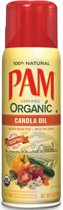 PAM Cooking Spray Organic Per Bus Canola Oil