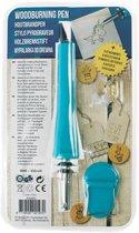 Luxe Houtbrander set 9-delig - Houtbrandpen - Soldeerpen - Houtbrand pen - 9 opzetstukken - Geschikt voor Hout, leer en kurk - Soldeerbout 30W