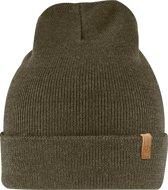 Fjallraven Classic Knit Hat Muts (fashion) Unisex - Dark Olive