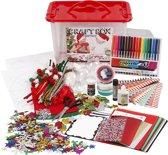 Hobbybox, afm 34x24x20 cm, diverse kleuren, 1stuk