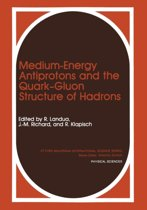 Medium-Energy Antiprotons and the Quark-Gluon Structure of Hadrons