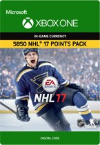 NHL 17 Ultimate Team: 5850 NHL Points - Xbox One