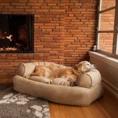 Snoozer Pet Products - Overstuffed Sofa - Hondenbed - XL Peat - 137 cm