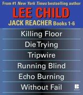 Boekomslag van 'Lee Child's Jack Reacher Books 1-6'