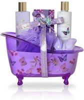 Adelante Geschenkset showergel, bodylotion, badkorrels, bruisbal en spons 200 ml - Hot Item!