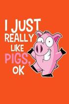 I Just Really Like Pigs, Ok