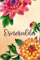 Esmeralda: Personalized Journal for Her (Su Diario)