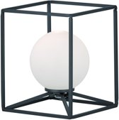 Reality GABBIA - Tafellamp - G9 - Zonder lichtbron - mat zwart