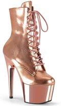 Pleaser Enkellaars -39 Shoes- ADORE-1020 Roze