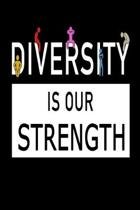 Diversity Is Our Strength: Monthly Planner With Internet Passwords And Contacts