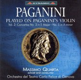 Plyed On Paganini's Violin Vol.2 Concertos 3 & 5