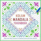 Deltas Kolam mandala tekenboek