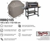 Raffles Covers barbecue afdekhoes 105 x 60 H: 110 / 100 cm RBBQ105