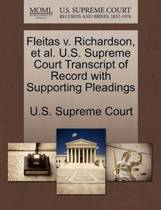 Fleitas V. Richardson, Et Al. U.S. Supreme Court Transcript of Record with Supporting Pleadings