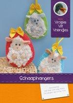 DIY wolvilt pakket: Schaaphangers