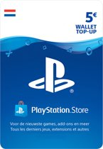 5 euro PlayStation Store tegoed - PSN Playstation