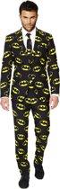 OppoSuits Batman™ - Mannen Kostuum - Zwart - Carnaval - Maat 62