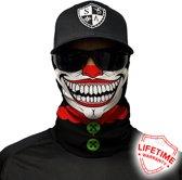 Faceshield - Nekwarmer - One size - Clown