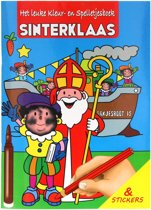 Sinterklaas kl./stickerboek A4