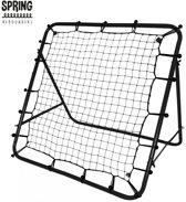 SPRING Rebounder Stuitbaltrainer Kicker 100 X 100 Cm