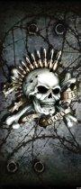 Fotobehang Alchemy Skull Ammunition | DEUR - 211cm x 90cm | 130g/m2 Vlies
