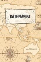 Kathmandu: Liniertes Reisetagebuch Notizbuch oder Reise Notizheft liniert - Reisen Journal f�r M�nner und Frauen mit Linien