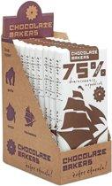 Chocolatemakers Tres Hombres 75% Nibs (10x)