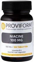 Proviform Vitamine B3 100mg - 100 Tabletten  - Vitaminen