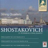 String Quartets Nos. 3, 5, 7