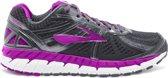 Brooks Ariel 16  Sportschoenen - Maat 38.5 - Vrouwen - donker grijs/paars/wit