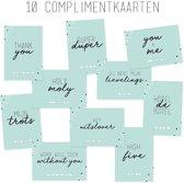 Complimentkaarten - set van 10 - Geluksbrengertje